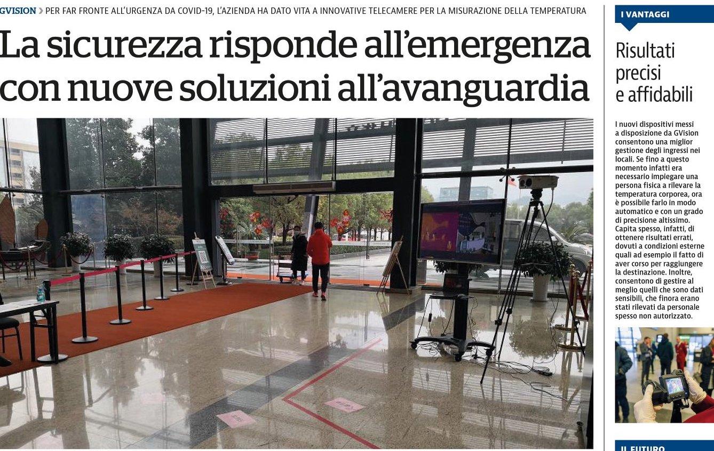 Geovision sicurezza pubblica dispositivi covide la reppublica